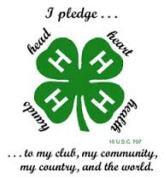 4-H Logo Pledge