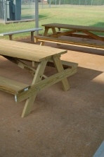The students have been building picnic tables for our school campus as part of their projects in Agriculture Education with Mr. Josh Utley.