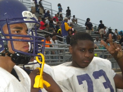 Caleb Bailey and Lamont Thompson