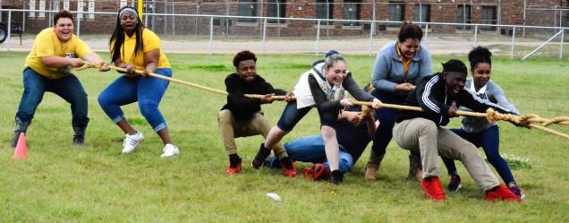 Sophomore Class Tug of War