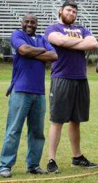 Coach Hicks and Coach Pharis