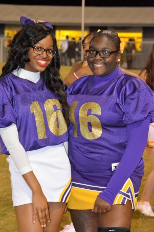 Alumni Chrishauna Ferrell and Myeshia McDonald